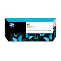 HP 91 - C9469A - 1 x Yellow - Ink cartridge - For DesignJet Z6100, Z6100ps a