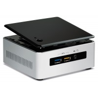 Intel Next Unit of Computing Kit NUC5i5RYH - Barebone - mini PC - 1 x Core i5 5250U / 1.6 GHz - HD Graphics 6000 - GigE - WLAN: 802.11a/b/g/n/ac, Bluetooth 4.0 LE a