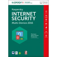 Kaspersky Internet Security 2016, Multi Device, 3 Device, 1 User - FFP packaging a