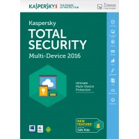 Kaspersky Total Security 2016 3 device 1 year a