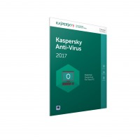 Kaspersky Anti-Virus 2017 - Box pack (1 year) - 3 PCs - CD (Frustration-Free Packaging) - Win - United Kingdom a