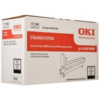 OKI - Black - drum kit - for C5650dn, 5650n, 5750dn, 5750n a