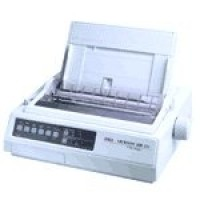 OKI Microline 320 - Printer - monochrome - dot-matrix - Roll (25.4 cm) - 240 x 216 dpi - 9 pin - up to 360 char/sec - parallel a