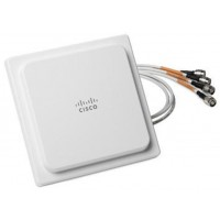 Cisco Aironet Four-Element MIMO Dual-Band Omnidirectional Antenna - Antenna - 2 dBi (for 2.4 GHz), 4 dBi (for 5 GHz) - omni-directional - ceiling mountable, indoor a