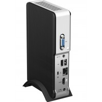 Intel Next Unit of Computing Kit DE3815TYKHE - Barebone - mini PC - 1 x Atom E3815 / 1.46 GHz - flash 4 GB - HD Graphics - GigE a