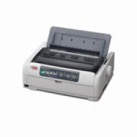 OKI Microline 5720eco - Printer - monochrome - dot-matrix - 254 mm (width) - 9 pin - up to 700 char/sec - parallel, USB a