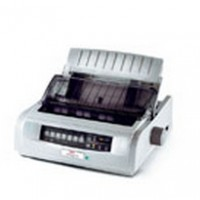 OKI Microline 5521 - Printer - monochrome - dot-matrix - fanfold (40.6 cm) - 240 x 216 dpi - 9 pin - up to 570 char/sec - parallel, USB 2.0 a