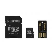 Kingston Technology 32GB Multi Kit 32GB MicroSDHC Flash Class 4 memory card a