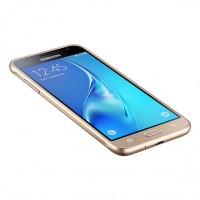 Samsung Galaxy J3 (2016) - SM-J320FN - smartphone - 4G LTE - 8 GB - microSDXC slot - GSM - 5 - 1280 x 720 pixels - Super AMOLED - 8 MP (5 MP front camera) - Android - gold a