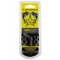 ROCKSTAR Noise Isolation Earbuds  Black/Yellow a