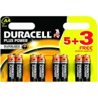 DURACELL AA BATTERIES (8 PACK) a