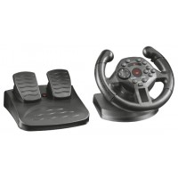 Trust GXT 570 Wheel + Pedals PC,Playstation 3 Black a
