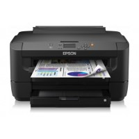 Epson WorkForce WF-7110 A3 Business Printer, 4,800 x 2,400 dpi print resolution, 20,000 pages per month, LCD screen, 12 months on site service a