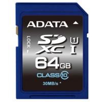 ADATA SDXC 64GB 64GB SDXC UHS Class 10 memory card a
