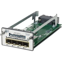 Cisco - Expansion module - GigE - 4 ports - refurbished - for Catalyst 3560X-24, 3560X-48, 3750X-12, 3750X-24, 3750X-48 a