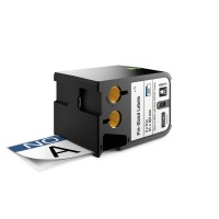 "DYMO XTL with blue heading CAUTION"" - Vinyl - permanent adhesive - black on white - 51 x 102 mm 70 label(s) labels - for XTL 500 a"