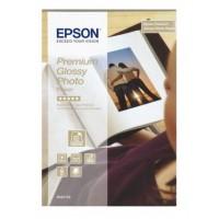 Epson Premium Glossy Photo Paper - Glossy photo paper - 100 x 150 mm - 40 sheet(s) a