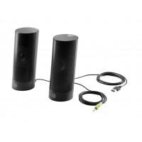 HP USB Business speakers v2 - Speakers - for PC - 4 Watt (Total) - black (grille colour - black) - for HP 260 G2, 280 G3, 290 g1, EliteDesk 705 G3, 800 G2, ProDesk 400 G2.5, 400 G3, 490 G3 a