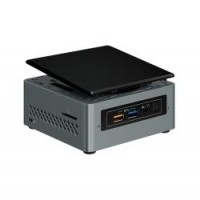 Intel Next Unit of Computing Kit NUC6CAYH - Barebone - mini PC - 1 x Celeron J3455 / 1.5 GHz - HD Graphics 500 - GigE - WLAN: 802.11a/b/g/n/ac, Bluetooth 4.2 a