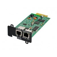 Eaton Network Card-MS - Remote management adapter - 100Mb LAN, RS-232 - for Eaton PW9135G6000-XL3U, 5PX 1000, 1500, 2200, 3000, 3000 3U Rack/Tower LCD a