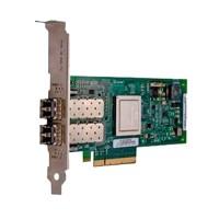 QLogic 2662 - Host bus adapter - 16Gb Fibre Channel x 2 - for PowerEdge R520, R530, R630, R720, R730, R820, R830, R920, R930, T630, PowerVault MD3800 a