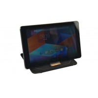 Hannspree Fitted Case Stand - Protective sleeve for tablet - faux leather - for HANNSpad (10.1 in)