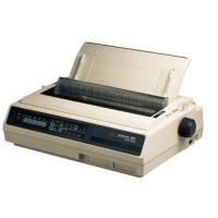 OKI Microline 395B - Printer - monochrome - dot-matrix - 360 dpi - 24 pin - up to 607 char/sec - parallel, serial - white a