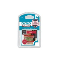 DYMO D1 - Self-adhesive - white on red - Roll (1.2 cm x 3 m) 1 roll(s) label tape a