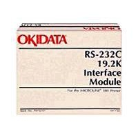 OKI - Serial adapter - RS-232 - RS-232 - for Microline 320, 321, 33XX, 385, 390, 391, 4410, 520, 521, 55XX, 590, 591, 6300 a