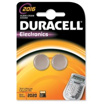 Duracell DL 2016 - Battery 2 x CR2016 Li 85 mAh - silver a