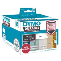 DYMO LabelWriter Address - Adhesive - white - 25 x 25 mm 1700 label(s) (1 roll(s) x 1700) labels a