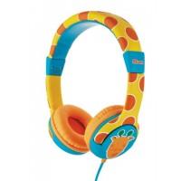 Trust Spila Kids - Giraffe Cyan,Orange,Yellow Head-band headphone a
