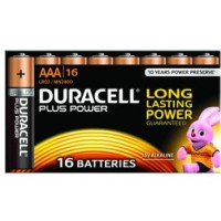 Duracell Plus Power MN2400 - Battery 16 x AAA type Alkaline a