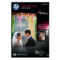 HP Premium Plus Photo Paper - Glossy - 100 x 150 mm - 300 g/m² - 50 sheet(s) photo paper - for Envy 5055, 7645, Officejet 5255, 76XX, PageWide MFP 377, PageWide Pro 452, Photosmart 5525 a