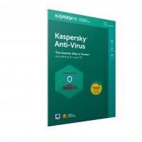 Kaspersky Antivirus 2018 3 pcs 1 year FFP a