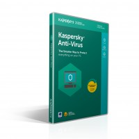 Kaspersky Antivirus 2018 3 pcs 1 year msb a