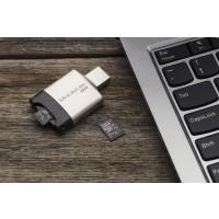Kingston Canvas Select - Flash memory card (microSDXC to SD adapter included) - 128 GB - UHS-I U1 / Class10 - microSDXC UHS-I a