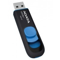 ADATA DashDrive UV128 16GB 16GB USB 3.0 (3.1 Gen 1) Type-A Black,Blue USB flash drive a