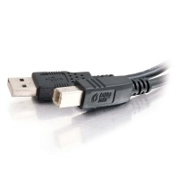 1m USB 2.0 A/B Cable - Black a