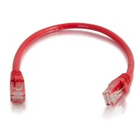 1.5m Cat5E 350 MHz Snagless Patch Cable - Red a