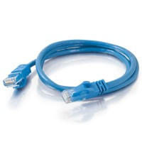 10m Cat6 550 MHz Snagless Patch Cable - Blue a