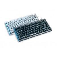 Cherry Compact keyboard, Combo (USB + PS/2), GB, light grey a
