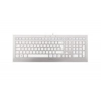 Cherry Strait USB QWERTY UK English Silver,White a