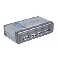 4-Port Hi-speed USB 2.0 Hub- 4-Port USB Hub for connecting USB 2.0 peripherals or devices- USB 2.0 Compliant- 4 USB A-Type Recepticles for connecting downstream for USB devices- 1 USB B-Type Recepticle for upstream connection to PC or other USB hub- High-