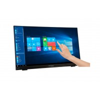 Hannspree HT HT225HPB 21.5 1920 x 1080pixels Multi-touch Multi-user Black touch screen monitor a