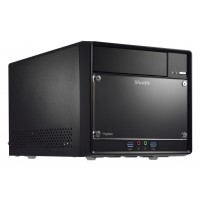Shuttle SH110R4 Intel H110 Desktop Black barebone a