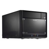 Shuttle SH110R4 Intel H110 Desktop Black barebone a