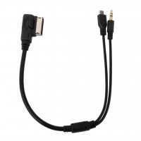 Car Audi / Volksvagen / Skoda / Seat Charging & Audio AMI MMI Cable For Micro-USB Devices