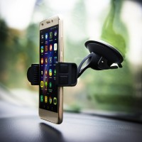 360 Degree Rotation Car Cradle with Gel Sticker for Cubot H3 / X18470943