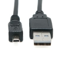 USB Data Sync Cable Lead UC-E6 for Nikon, Canon, Pentax, Panasonic, Samsung, Sony, Olympus Cameras